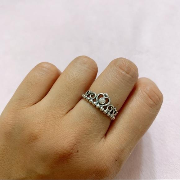 🦋Pandora Princess Crown Ring